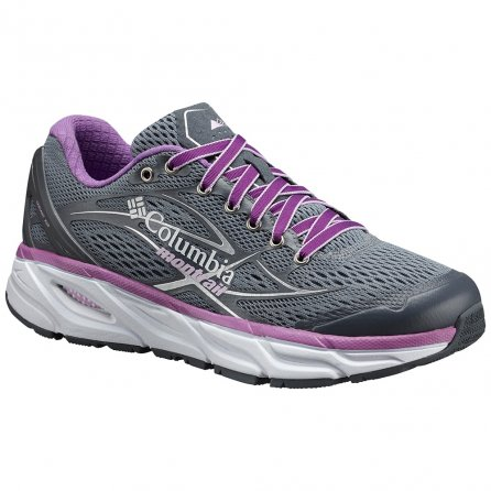 Montrail by Columbia Variant X.S.R Running Shoe (Women's) - Gray Ash/Phantom Purple