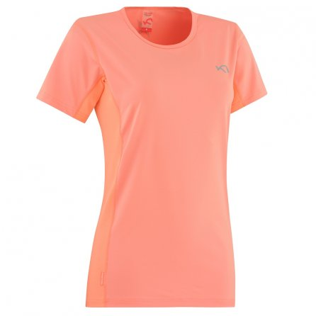 Kari Traa Nora Short Sleeve Running Shirt (Women's) - Candy