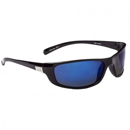 ONE by Optic Nerve Backwoods Polarized Sport Sunglasses - Flash Black