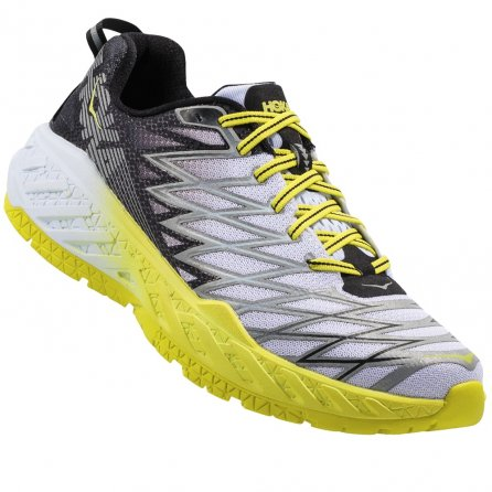 Hoka One One Clayton 2 Running Shoes (Men's) - Black/White/Citrus