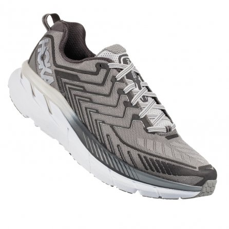 Hoka One One Clifton 4 Wide Running Shoes (Men's) - Griffon/Micro Chip