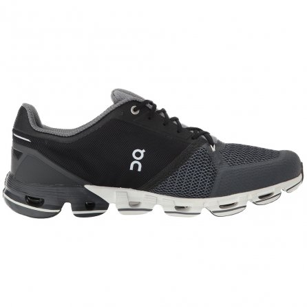 On Cloudflyer Running Shoes (Men's) - Black/White