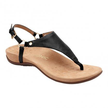 Vionic Rest Kirra Sandal (Women's) - Black/Black