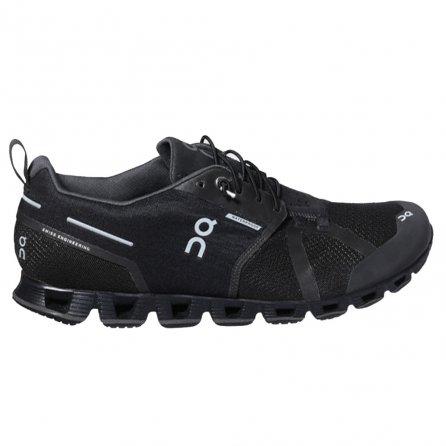 On Cloud Waterproof Running Shoe (Men's)  - Black/Lunar