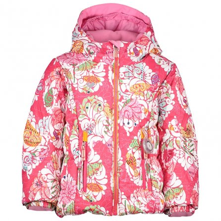 Obermeyer Cakewalk Insulated Ski Jacket (Little Girls') - Frost Garden Print