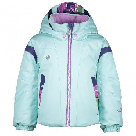 Obermeyer Twist Insulated Ski Jacket (Little Girls') - Sea Glass