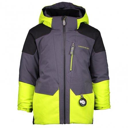 Obermeyer Influx Insulated Ski Jacket (Little Boys') - Green Flash