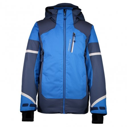 Obermeyer Outland Insulated Ski Jacket (Boys') - Stellar Blue