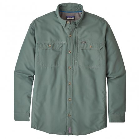 Patagonia Long Sleeve Sol Patrol II Shirt (Men's) - Pesto