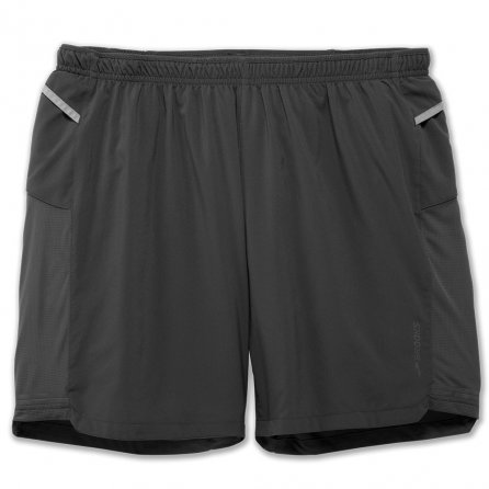 Brooks Sherpa 2-in-1 Short (Men's) - Asphalt
