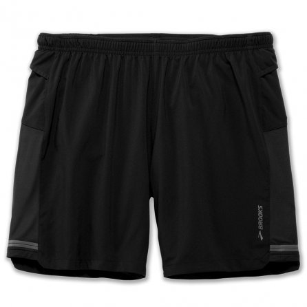 Brooks Sherpa 2-in-1 Short (Men's) - Black
