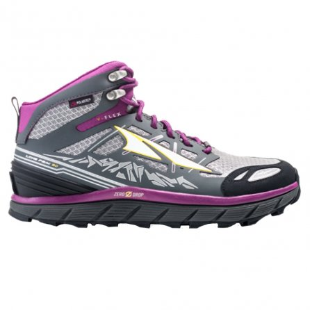 Altra Lone Peak 3 NeoShell Mid Trail Running Shoe (Women's) - Grey/Purple
