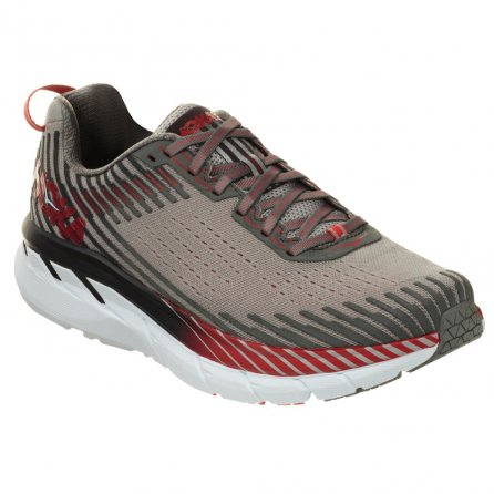 Hoka One One Clifton 5 Wide Running Shoe (Men's) - Alloy/Steel Gray