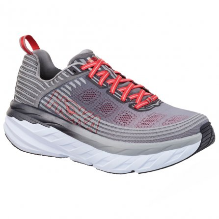 Hoka One One Bondi 6 Wide Running Shoe (Men's) - Alloy/Steel Gray
