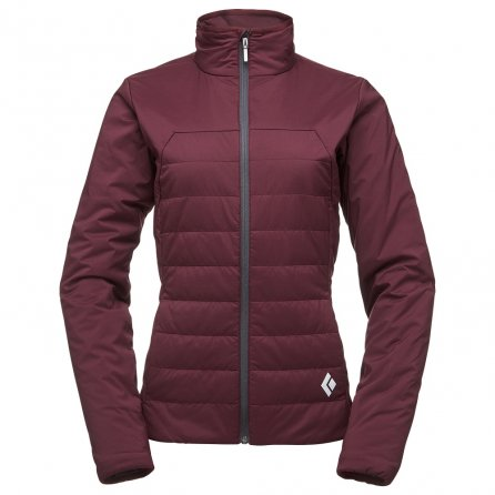 Black Diamond First Light Insulated Ski Jacket (Women's) - Bordeaux
