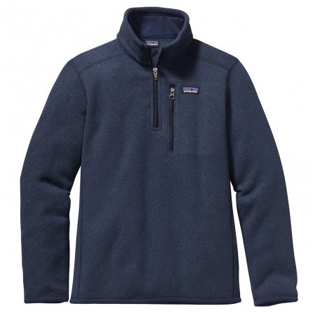 Patagonia Better Sweater 1/4 Zip Mid-Layer (Boys') - Classic Navy