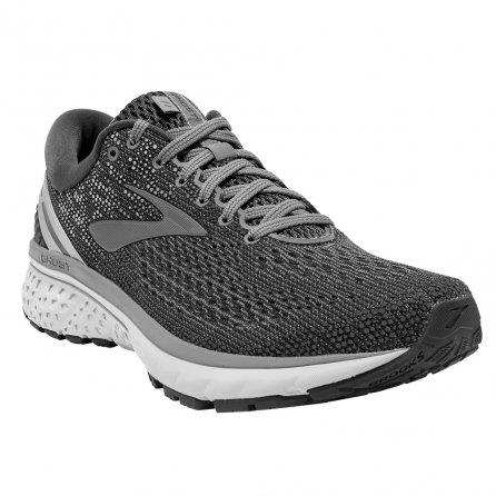 Brooks Ghost 11 Running Shoe (Men's) - Ebony/Grey/Silver