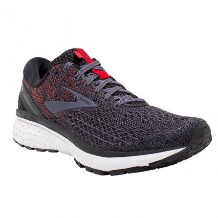 Brooks Ghost 11 Running Shoe (Men's) - Black/Graystone/Cherry