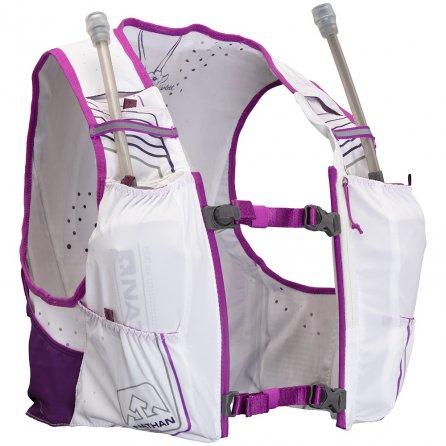 Nathan VaporHowe 2.0 Insulated 4L Race Vest - White/Purple Cactus/Majesty