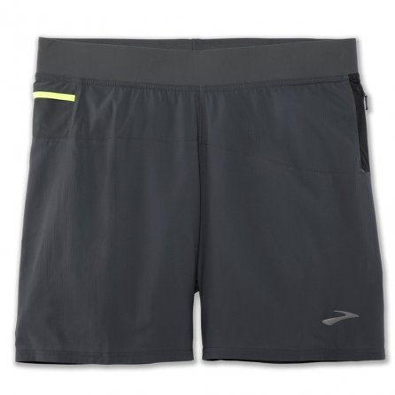 Brooks Cascadia 2-in-1 Short (Men's) - Asphalt