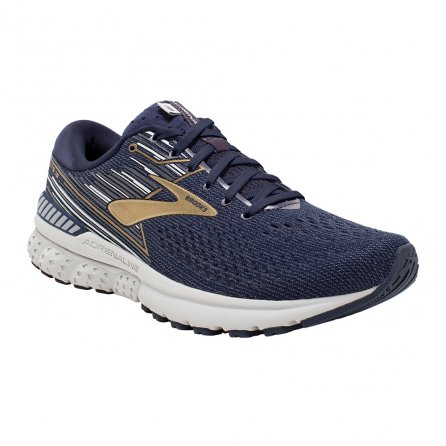 Brooks Adrenaline GTS 19 Running Shoe (Men's) - Navy/Gold/Grey