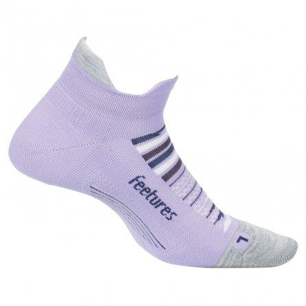 Feetures Elite Light Cushion No Show Tab Running Sock (Adults') - Purple Horizon