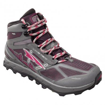 Altra Lone Peak 4 Mid RSM Trail Running Shoe (Women's) - Gray/Purple