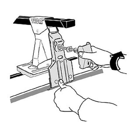 Thule Fit Kit 2094 - Car Racks -