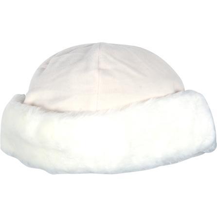 Turtle Fur Fancy Faux Fur Hat (Women's) - White