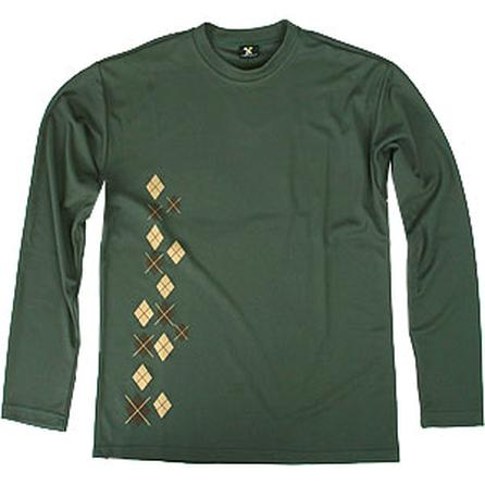 Descente Argyle Andy Crew Fleece (Men's) -