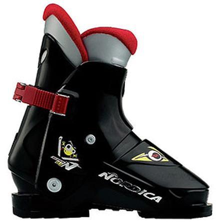Nordica Super N01 Ski Boots, Black (Little Kids') -
