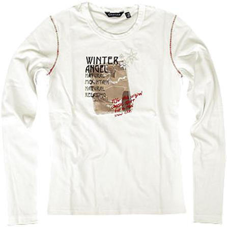 Disegna D Italia Winter Angel Long Sleeve T-Shirt (Women's) -