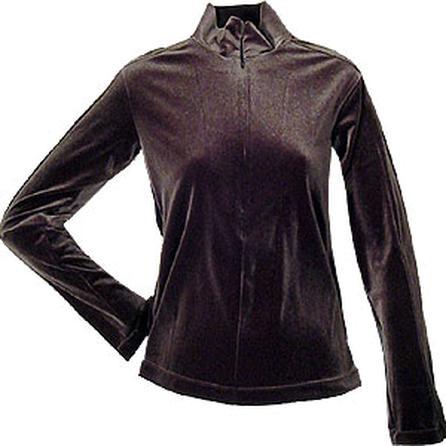Skea Invisible Mock Zip Turtleneck (Women's) -