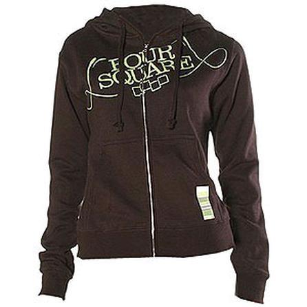Foursquare Polo Code Hooded Zip Sweatshirt (Women's) -