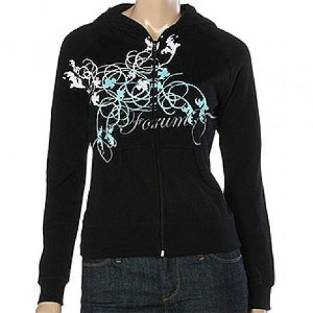 Forum Super Star Premium Zip Hooded Sweatshirt (Girl's) -
