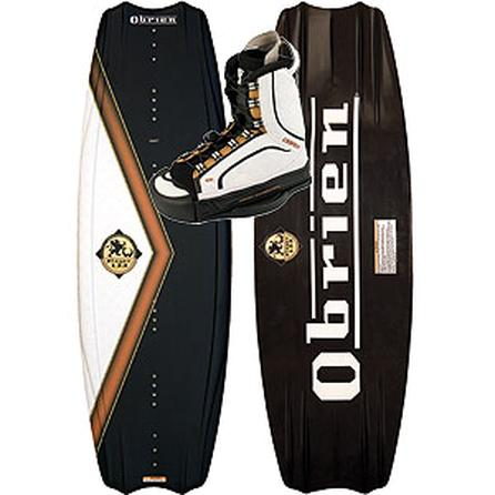 Obrien Player 133 Wakeboard Package with Ion Bindings (Men's) -