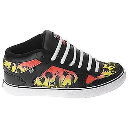 Circa 8 Track Skate Shoes, Black/White (Men's) -