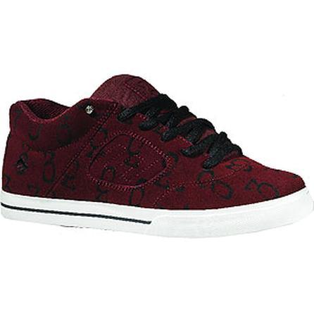 Emerica Reynolds 3 Skate Shoes, Maroon/Black/White (Men's) -