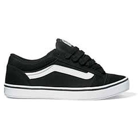 Vans No Skool 2 Skate Shoes, Black/White (Men's) -