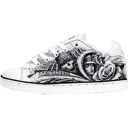 Osiris Troma II Skate Shoes, White Abel (Men's) -