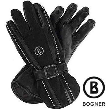 Bogner Crystals Leather Apres Ski Gloves (Women's) -