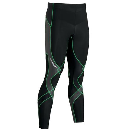 CW-X Insulated Stabilyx Baselayer Bottoms (Men's) - Black/Gray/Green