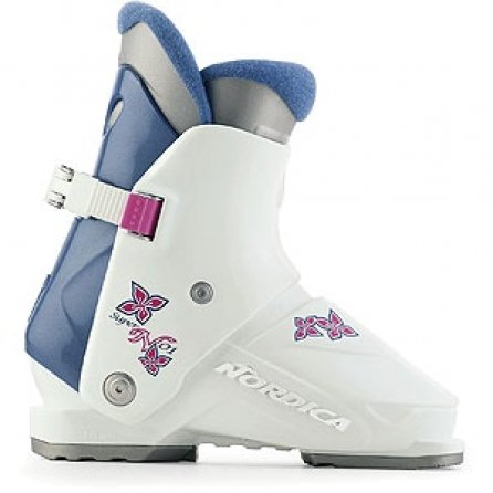Nordica Super N Ski Boots (Little Kids') - White