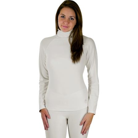 Snow Angel Fitted Turtleneck Baselayer Top (Women's) -