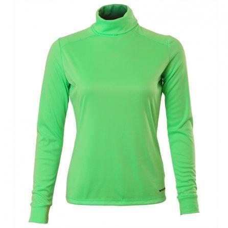 Hot Chillys PeachSkin Roll Down Turtleneck (Women's) - Spring Green