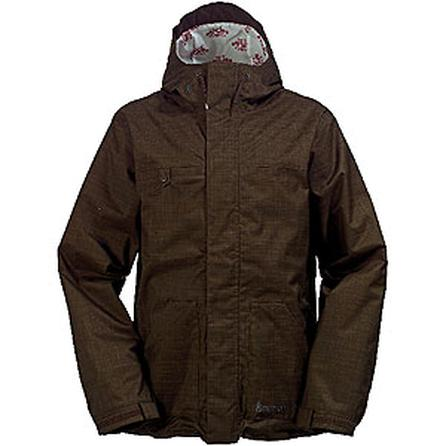 Burton White Collection Ice Wizard's Warmest Insulated Jacket (Men's) -