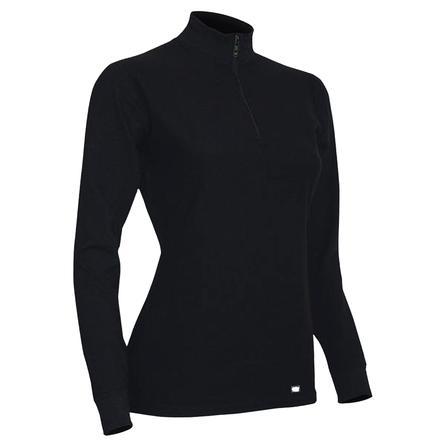 Polarmax Quattro Zip Baselayer Top (Women's) - Black