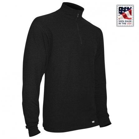 Polarmax Quattro Zip Baselayer Top (Men's) - Black