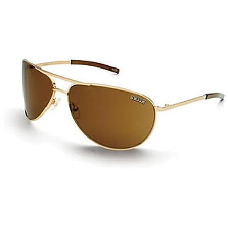 Smith Serpico Polarized Sunglasses - Gold/Polarized/Bronze