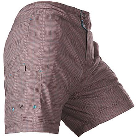 White Sierra Printed Board Shorts -